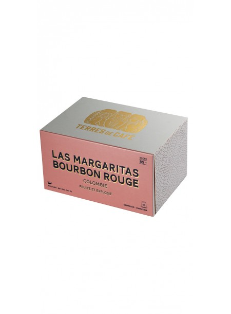 Café capsule Colombie Bourbon Rouge, Terres de café (x 10)