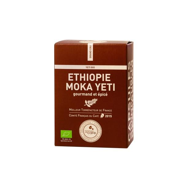 Café capsule Ethiopie Moka Bio - Terres de café (x 10)