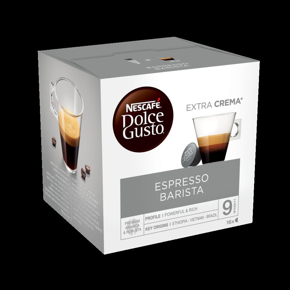 Café capsule Dolce Gusto  expresso barista (x 16)
