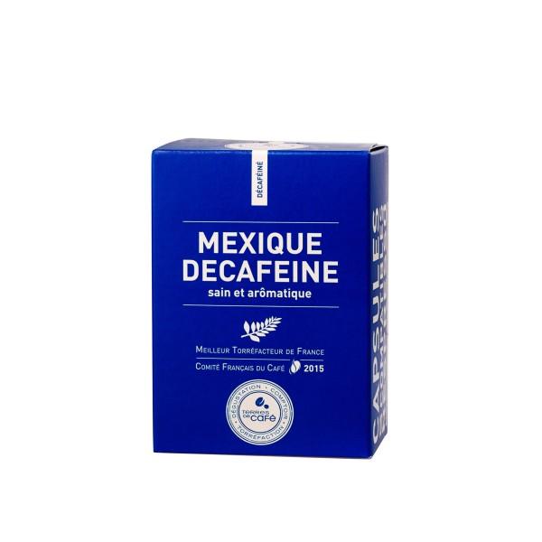 Café capsule Mexique Décaféiné - Terres de café (x 10)