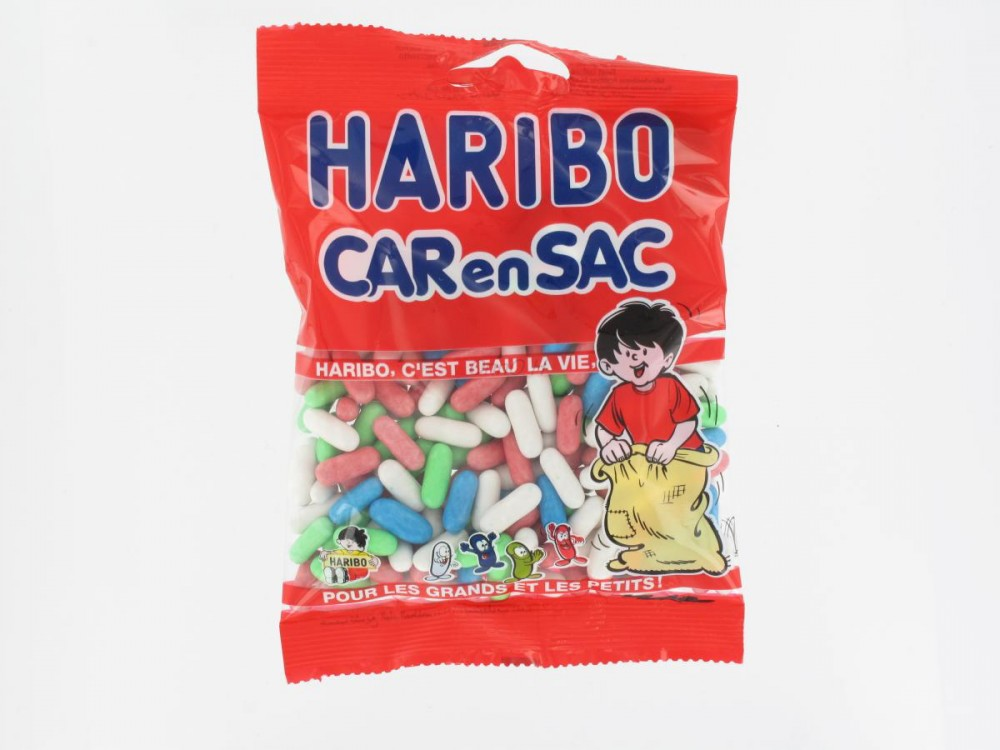 Bonbons Car-en-sac Haribo (120 g)