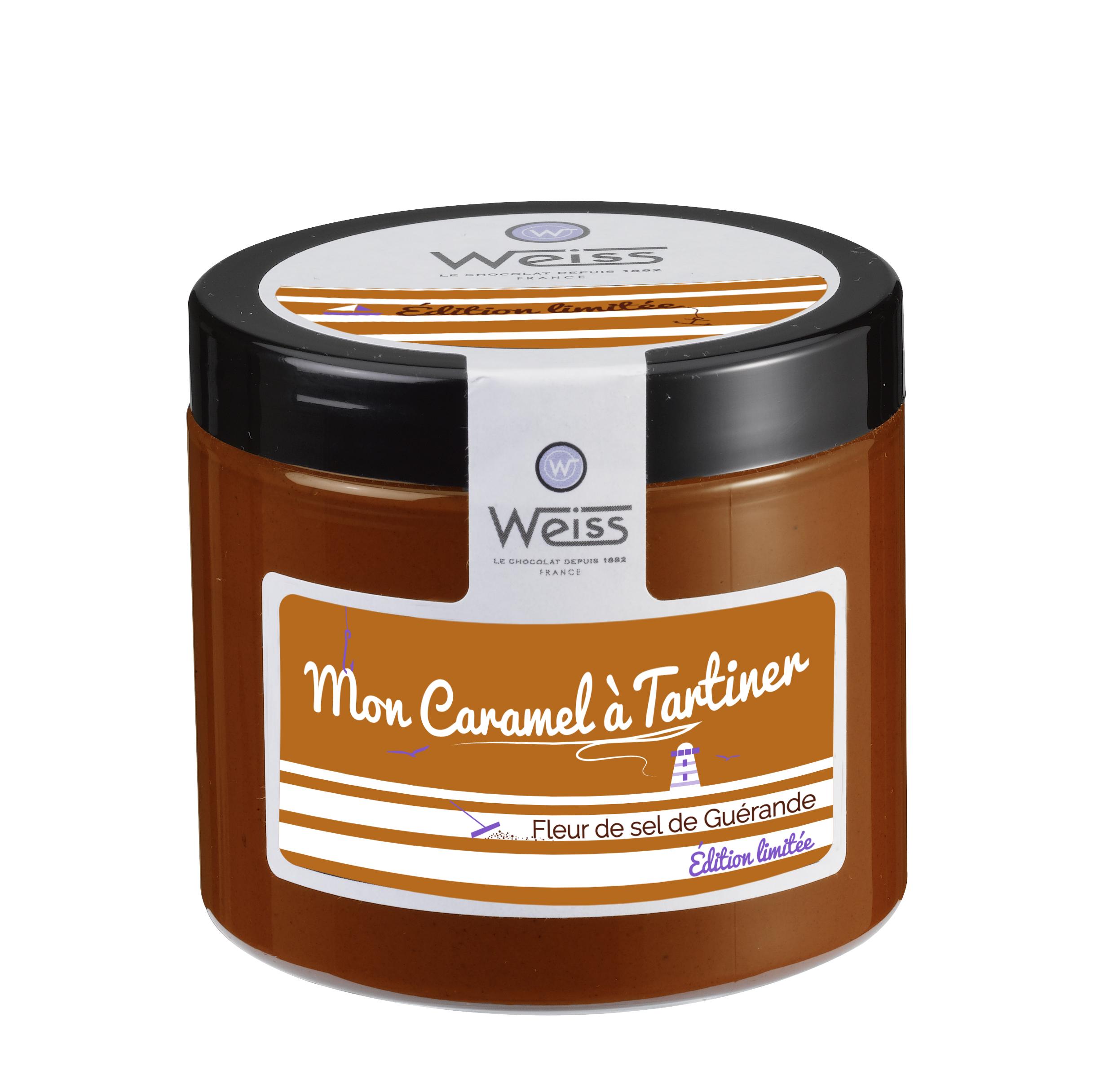 Caramel à tartiner, Weiss (250 g)
