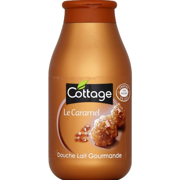 Douche lait Gourmande Caramel, Cottage (250 ml)