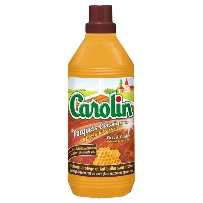 Nettoyant parquet classique, Carolin ( 1 L)