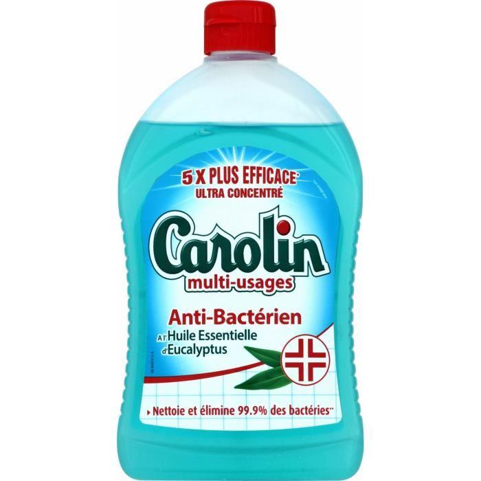 Nettoyant multi-usages anti-bactérien, Carolin (500 ml)