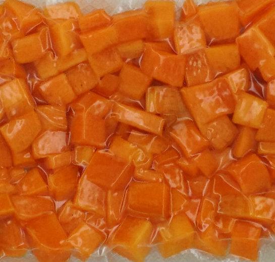 Carottes en dés (brunoise, environ 100 g)