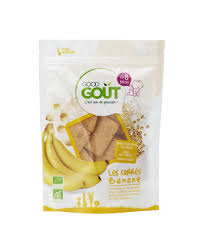 Carré banane BIO, Good Goût (50 g)