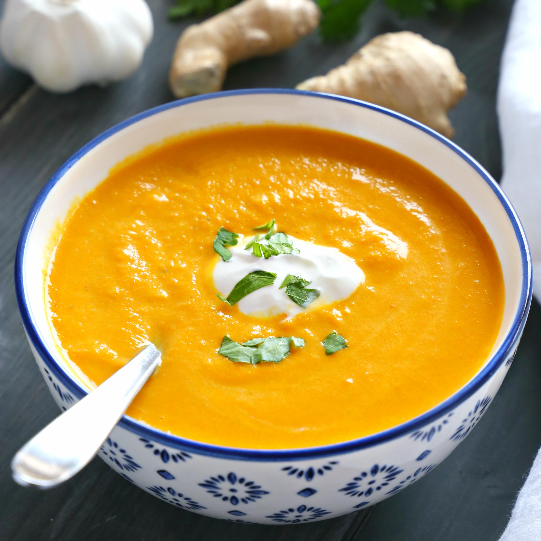 Kit soupe de carottes, lait de coco et gingembre