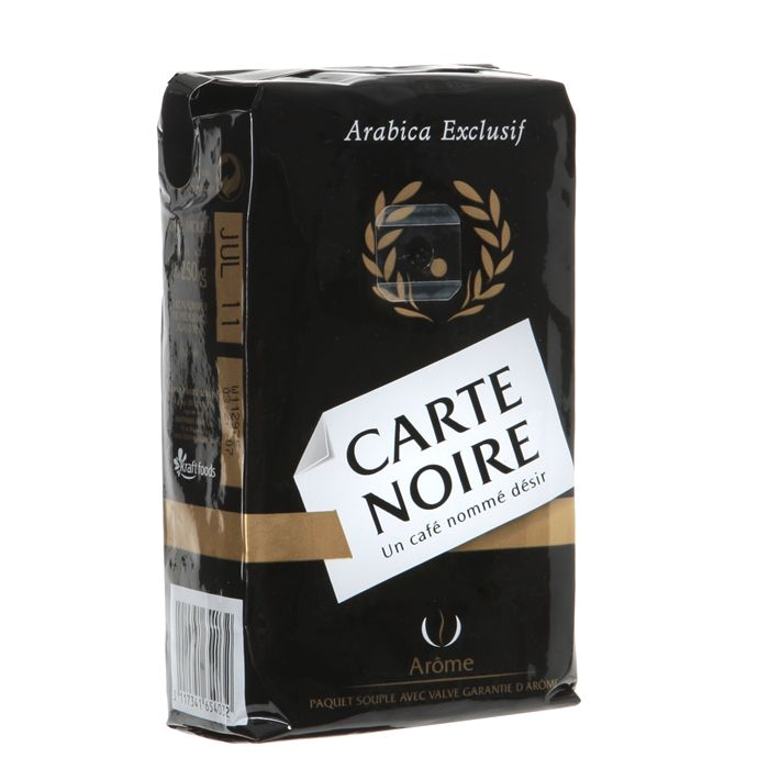 Café moulu, Carte Noire LOT DE 2  (2 x 250 g)