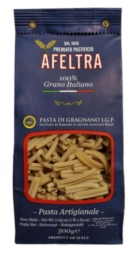 Casareccia di gragnano pâtes artisanales IGP, Afeltra (500 g)