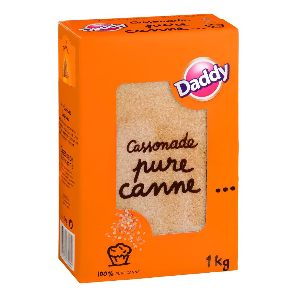 Cassonade pur canne, Daddy (1 kg)