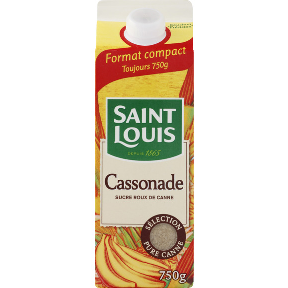 Sucre cassonade Saint Louis (750 g)