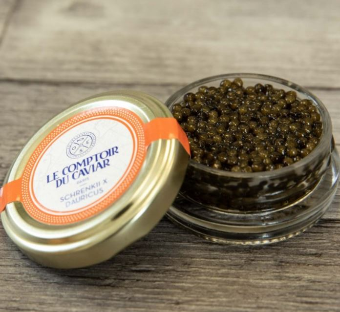 Caviar Schrenkii X Dauricus, Le Comptoir du Caviar (20 g)