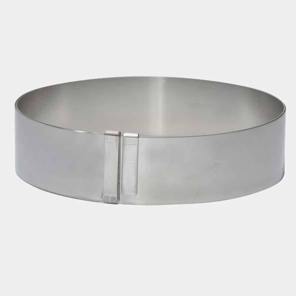 Cercle géant inox extensible De Buyer