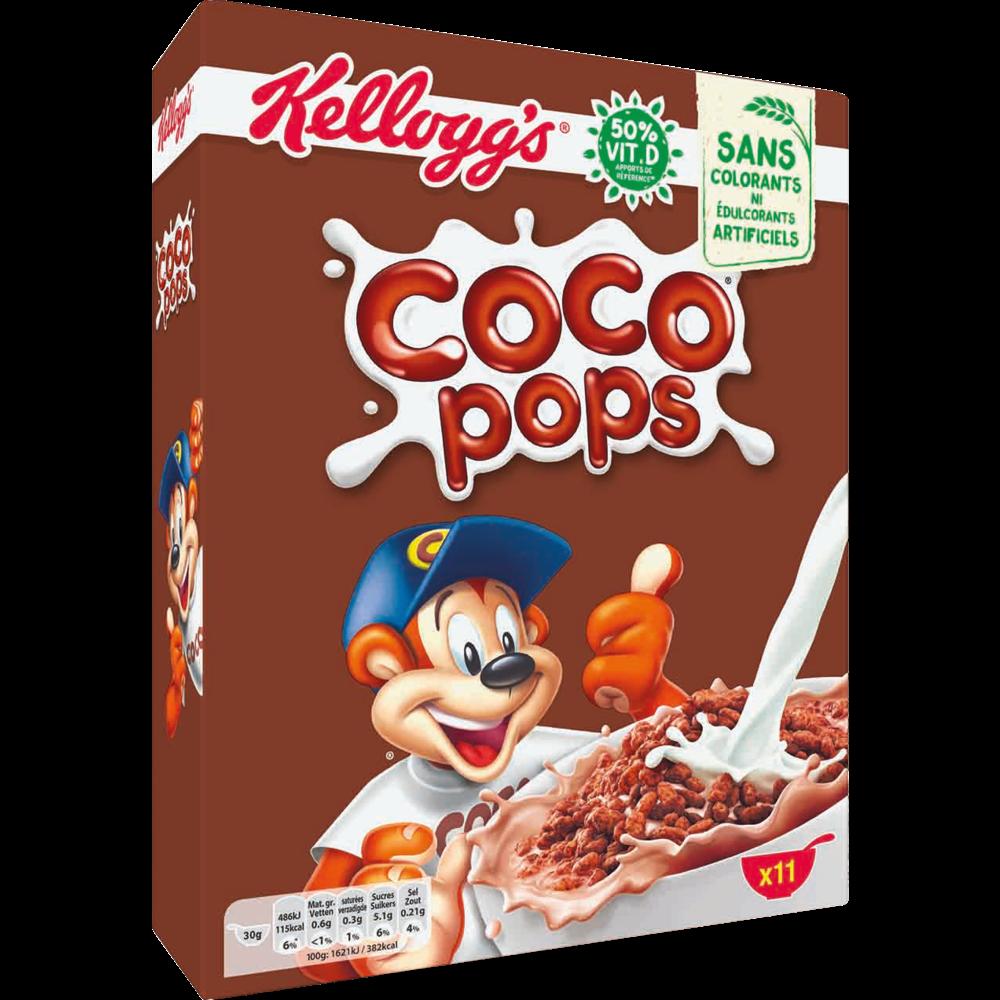 Céréales Coco Pops, Kellogg's (350 g)