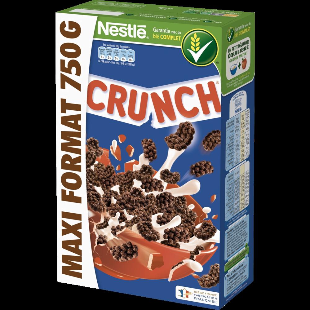 Céréales crunch, Nestlé (750 g)
