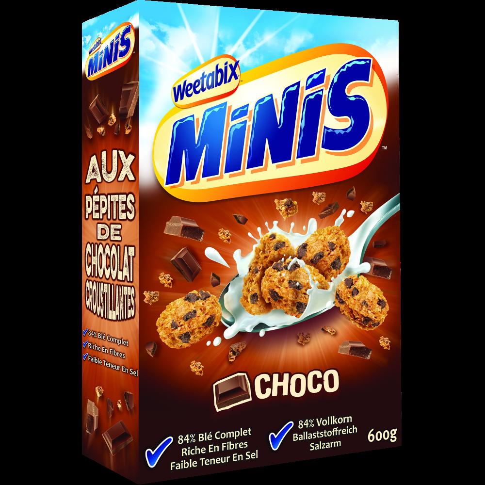 Céréales minis au chocolat Weetabix (600 g)