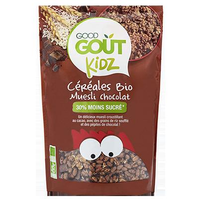 Céréales Muesli chocolat BIO - dès 3 ans, Good Goût Kid'z (300 g)