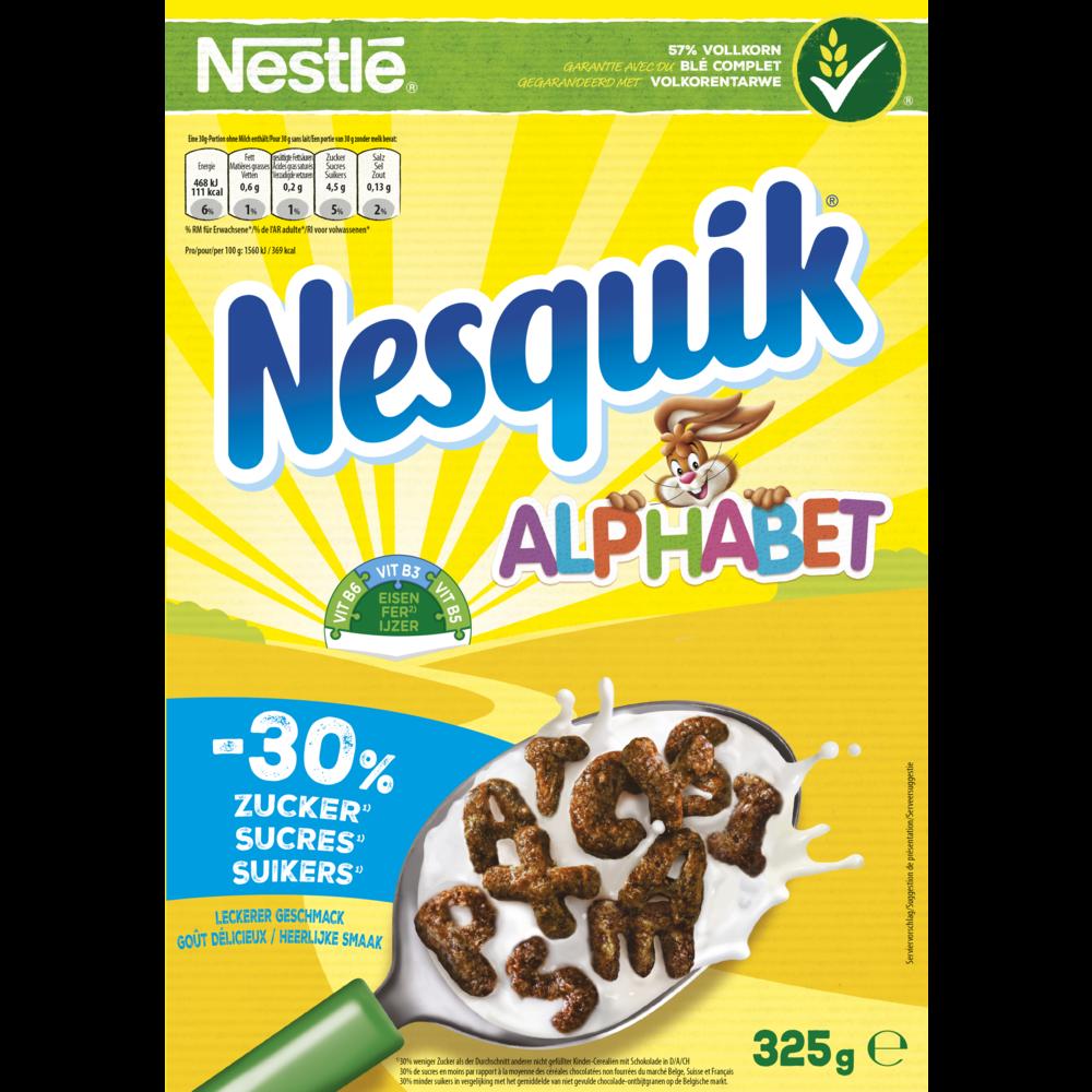 Céréales Nesquik Alphabet, Nestlé (325 g)