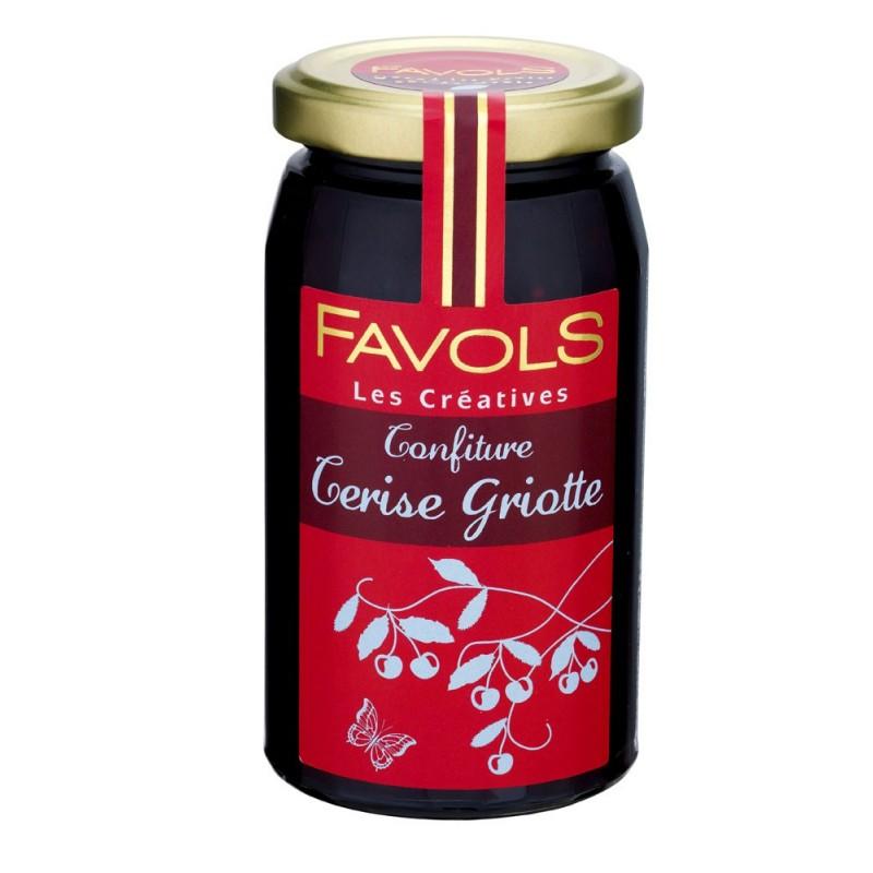 Confiture de cerise griotte, Favols (270 g)