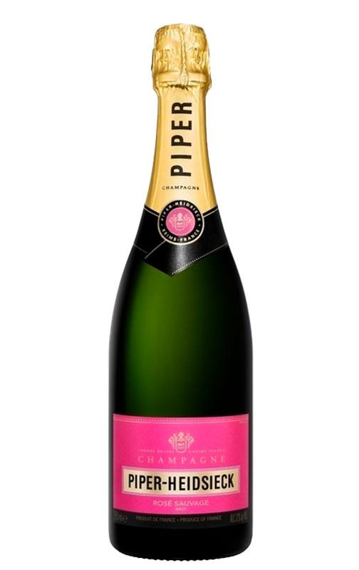 Champagne rosé sauvage, Piper-Heidsieck (75 cl)