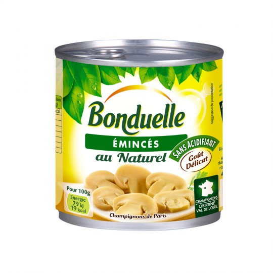 Champignons émincés, Bonduelle (230 g)