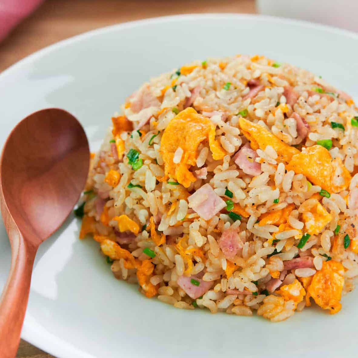 Chahan, riz rond nippon sauté aux légumes (350 g)