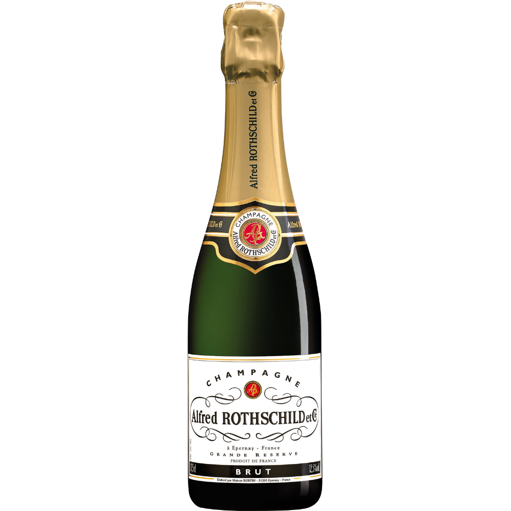 Champagne Brut, Alfred Rothschild&Cie (37,5 cl)