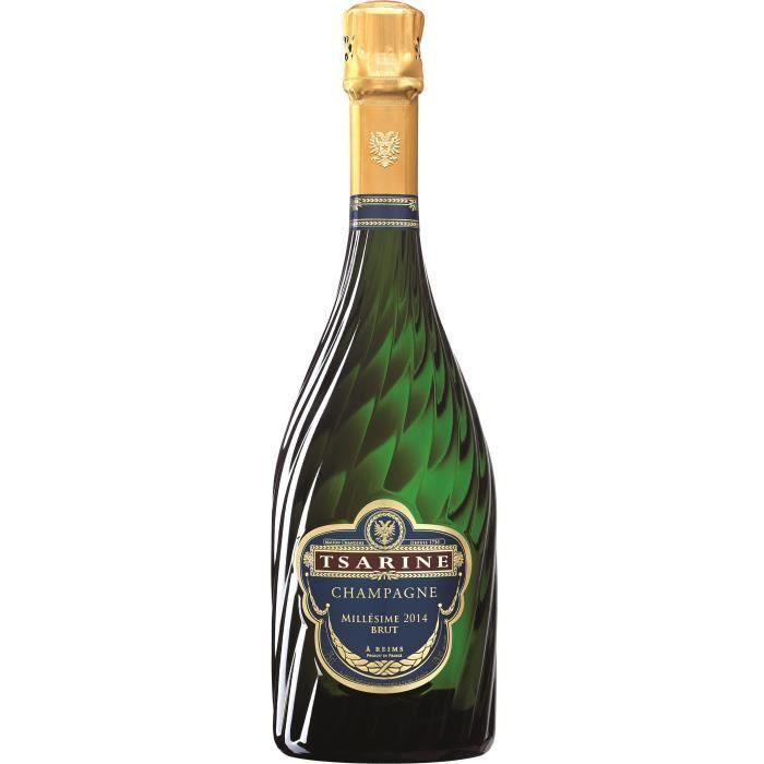 Champagne brut Millésimé, Tsarine (75 cl)