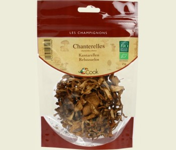 Chanterelles entières BIO, Cook (25 g)