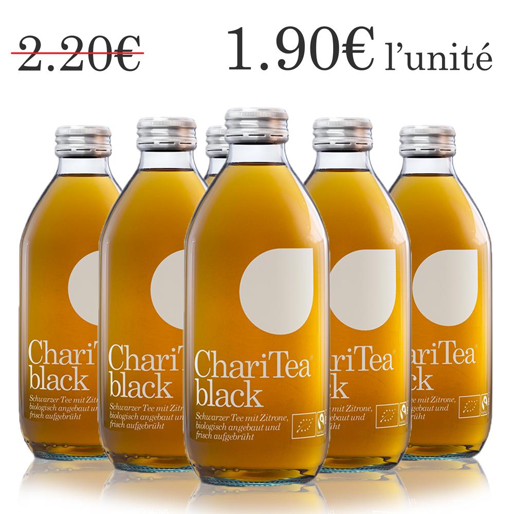 ChariTea black (6 x 33 cl)