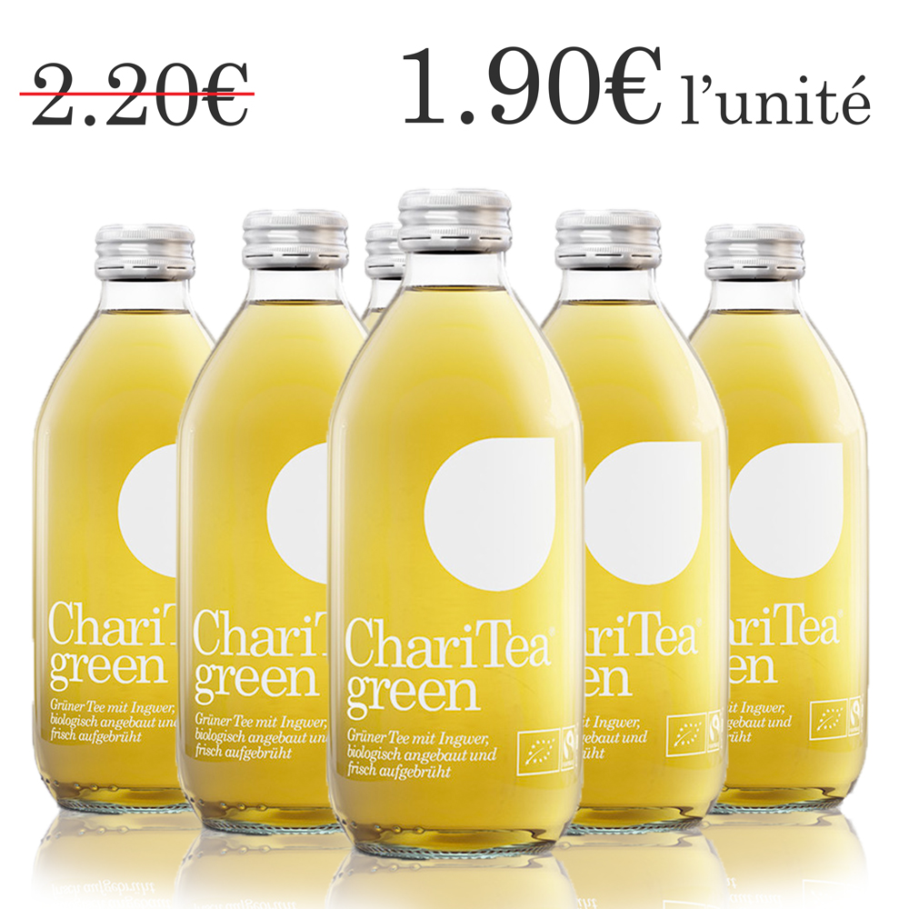 ChariTea green (6 x 33 cl)