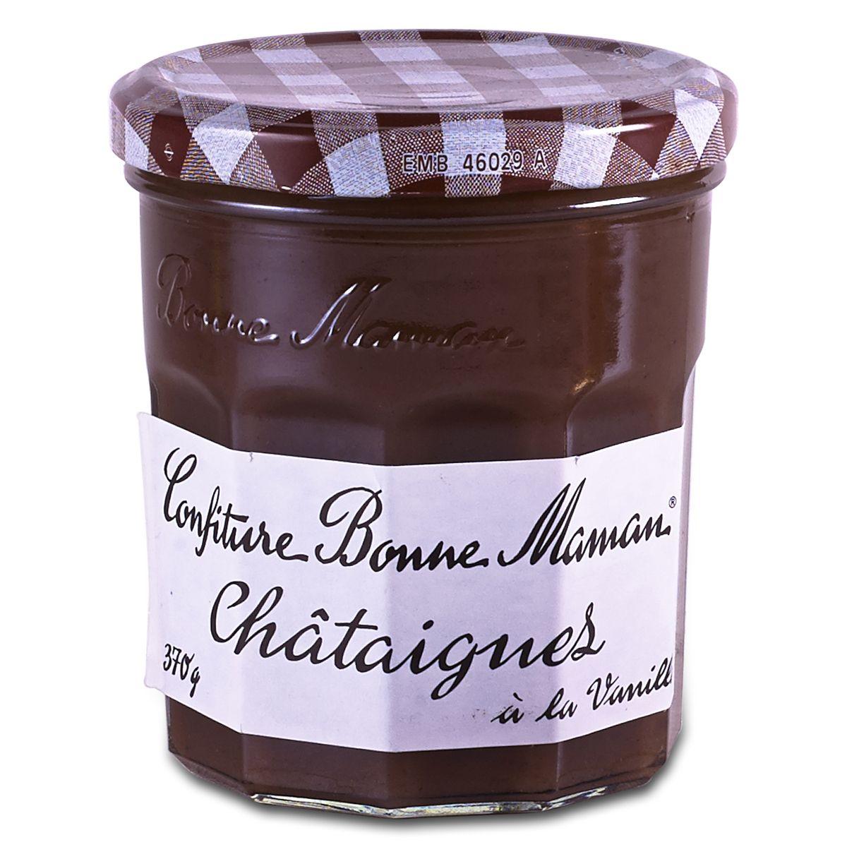 Confiture de châtaignes à la vanille, Bonne Maman (370 g)