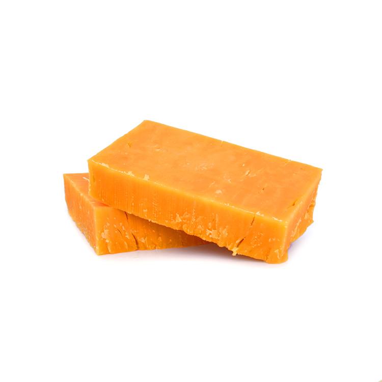 Cheddar rouge en bloc 32% (3.3 kg)