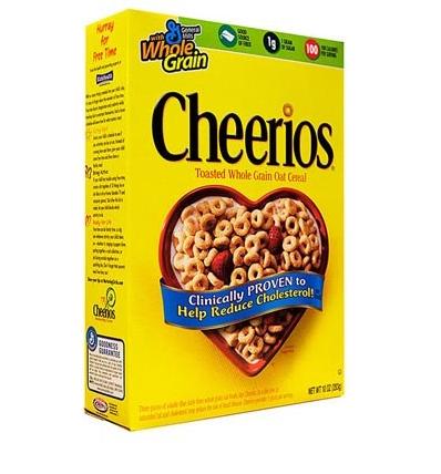 Céréales Cheerios, General Mills (340 g)