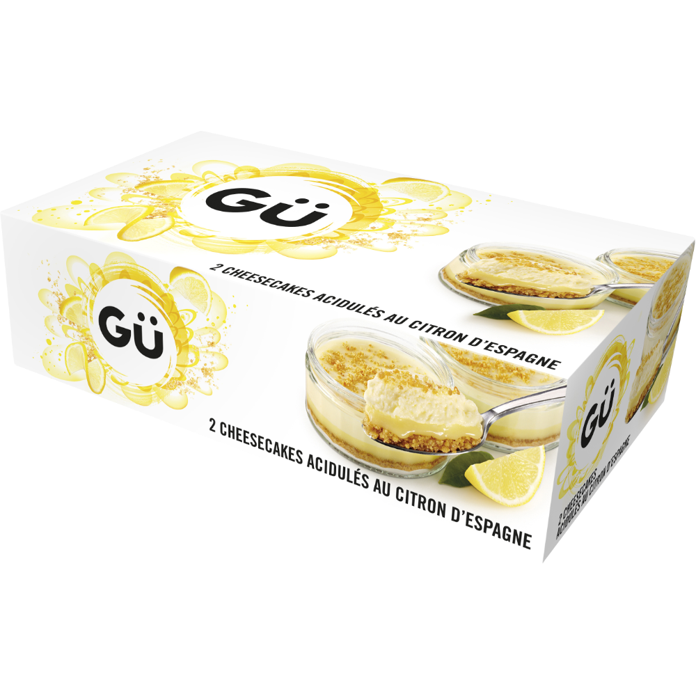 Cheesecake au citron, Gü (2 x 90 g)