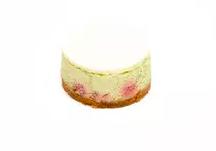 Cheesecake pistache-framboise, Rachel's cake