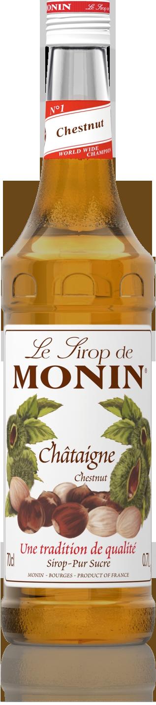 Sirop de châtaigne Monin (70 cl)