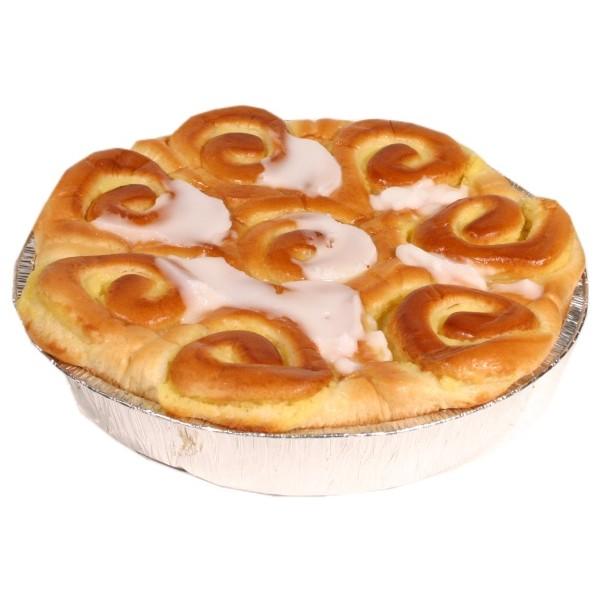 Brioche suisse à la crème pâtissière, La Fournée Dorée (600 g)