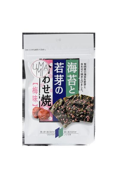Chips de nori et wakamé goût Ume (prune)