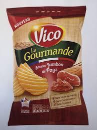 Chips La gourmande saveur Jambon de Pays, Vico (120 g)