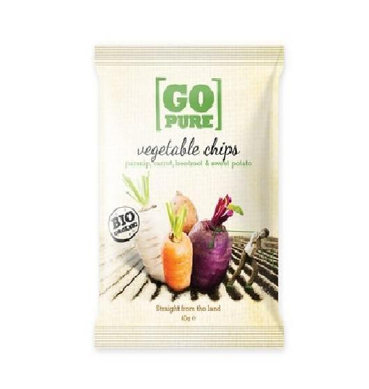 Chips de légumes, Go Pure (40 g)