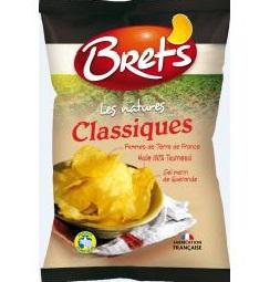 Chips natures classiques, Bret's (30 g)