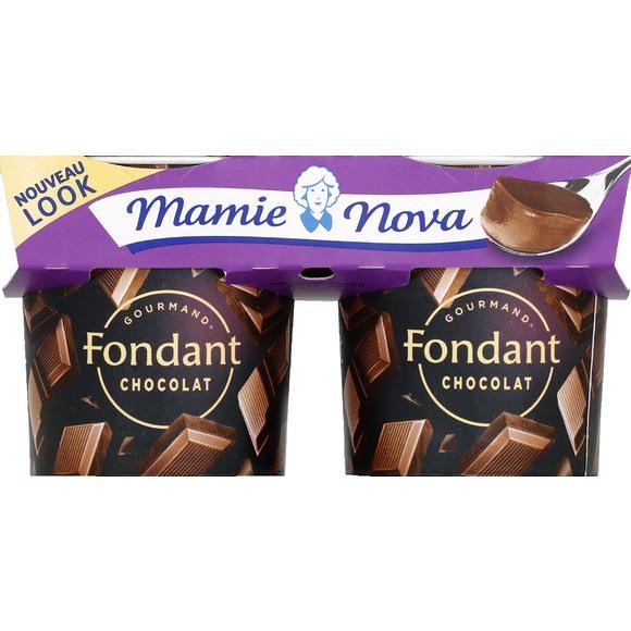 Dessert Fondant Chocolat, Mamie Nova (2 x 150 g)