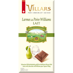 Chocolat Suisse Poire Williams, Villars (100 g)