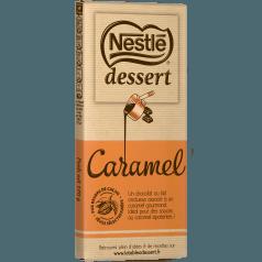 Chocolat au lait caramel, Nestlé dessert (170 g)