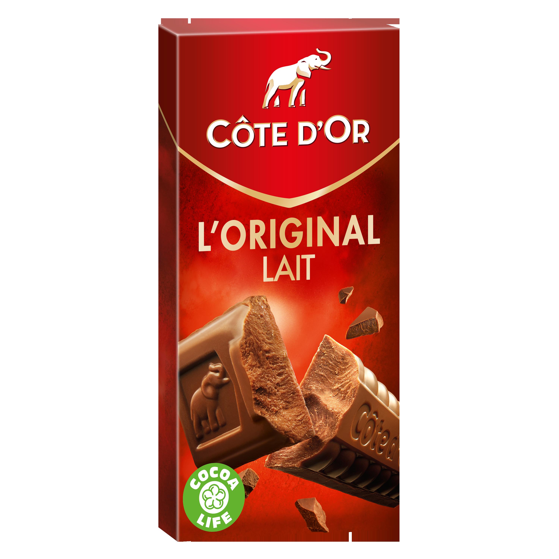 Chocolat au lait L'Original, Côte d'Or (200 g)