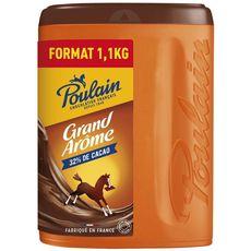 Chocolat en poudre grand arôme, Poulain (1.1 Kg)