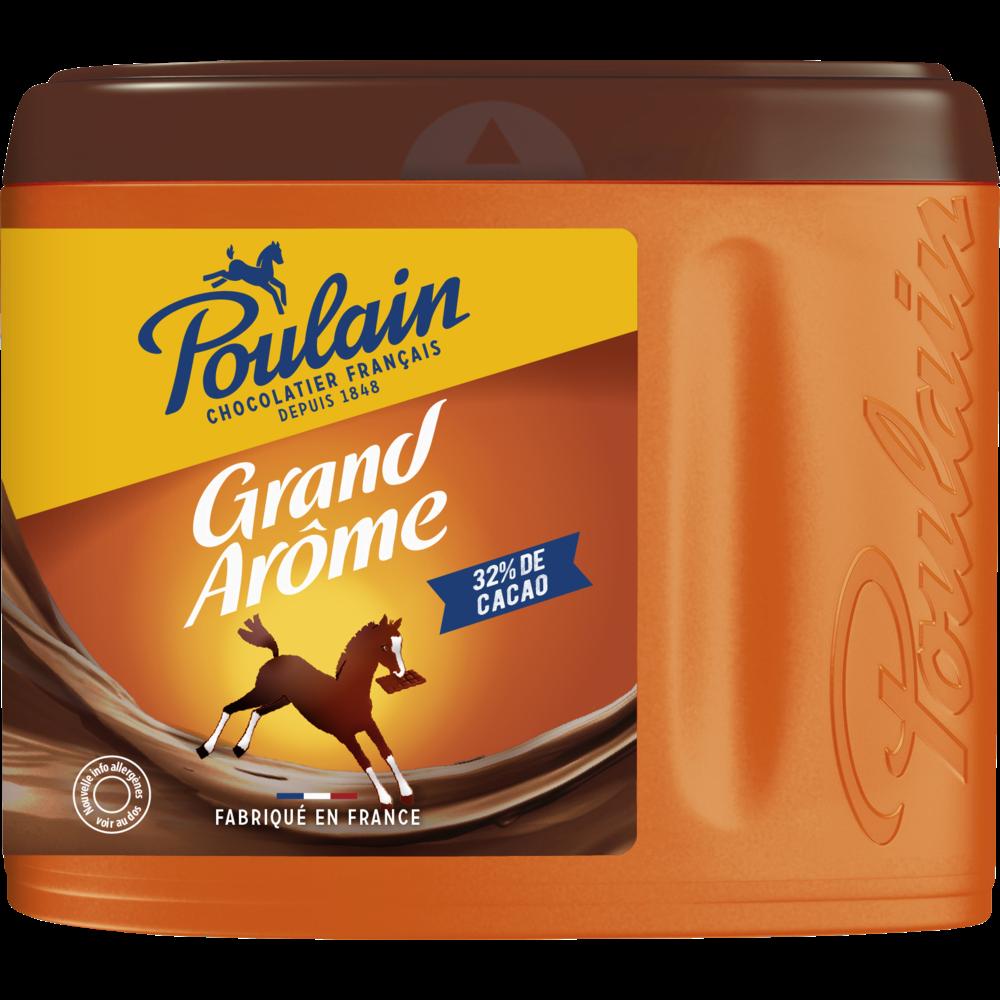 Chocolat en poudre grand arôme Poulain (450 g)