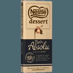 Chocolat noir absolu, Nestlé Dessert (170 g)